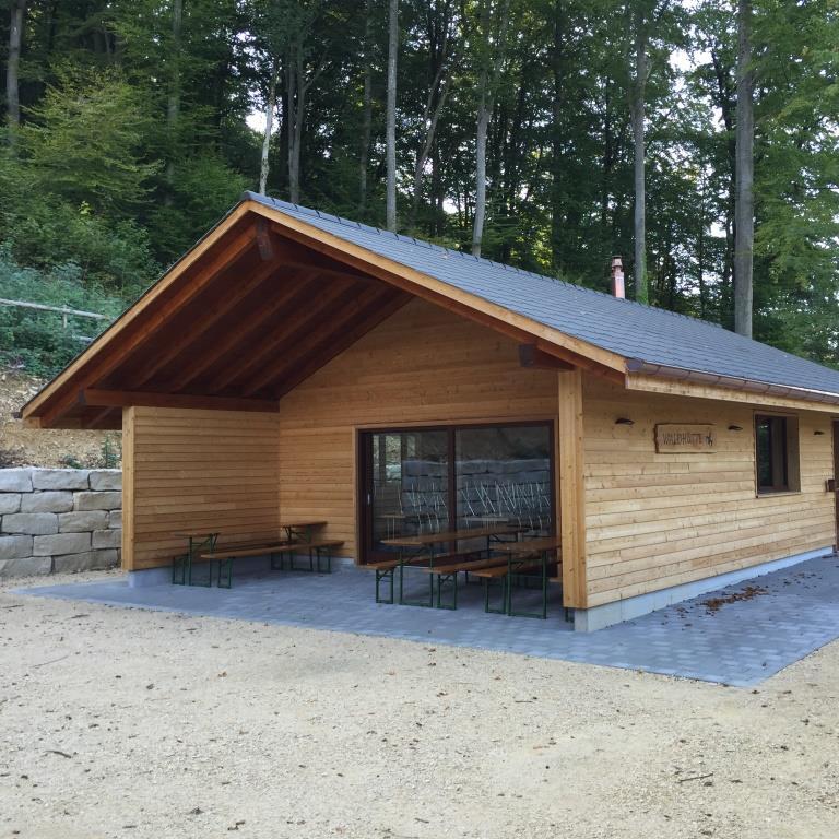 Neubau Waldhütte, Thürnen